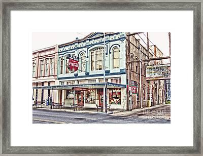 Star Drug Store - Store Front Framed Print by Scott Pellegrin