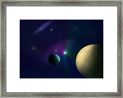 Star Dust Framed Print by Ricky Haug