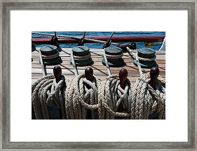 Star Flyer Sailing Cruise Ship, Costa Framed Print by Sergio Pitamitz