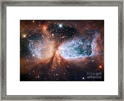Star-forming Region S106 Framed Print