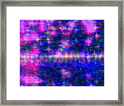 Star Gardens Framed Print