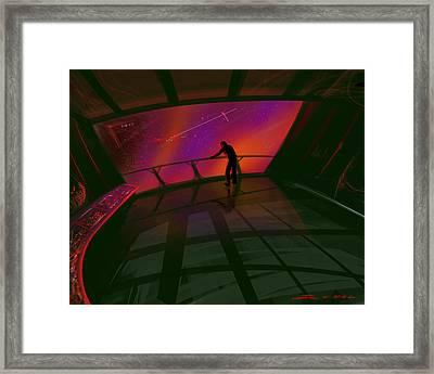 Star Gazer Framed Print