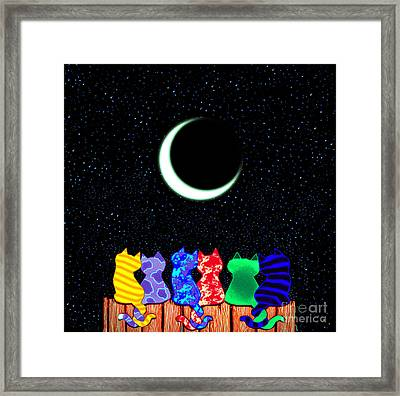 Star Gazers Framed Print by Nick Gustafson