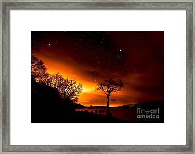 Star Gazin Framed Print by Roddy Atkinson