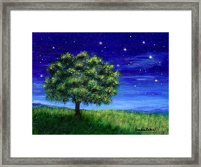 Star Gazing Framed Print