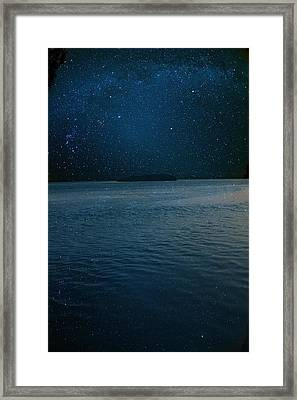 Star Island Framed Print by AR Annahita