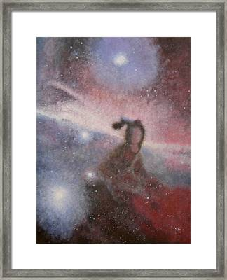 Star Lady Framed Print by Min Zou