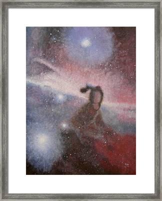 Star Lady Framed Print