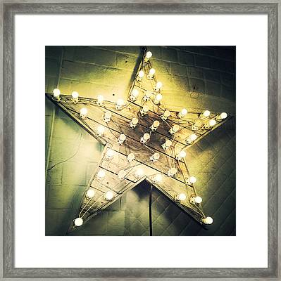 Star Light Bright Framed Print by Natasha Marco