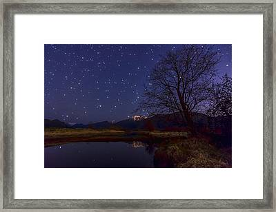 Star Light Star Bright Framed Print by James Wheeler