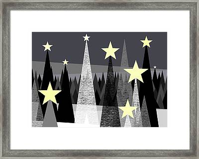 Star Light - Star Bright Framed Print by Val Arie