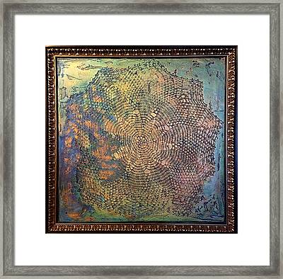 Star Masterpiece By Alfredo Garcia Art Framed Print