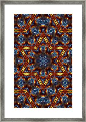 Star Of David Framed Print