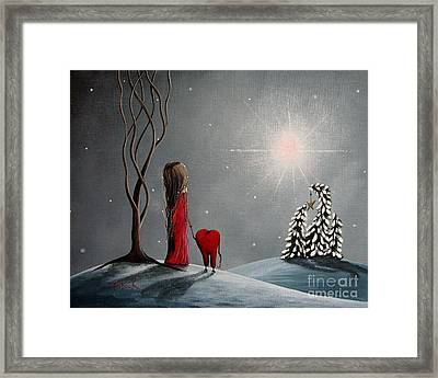 Star Of Hope By Shawna Erback Framed Print by Shawna Erback