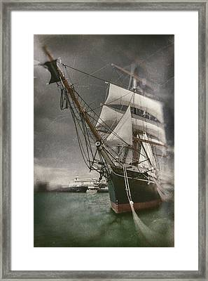 Star Of Inda Bow First Framed Print