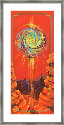 Star Of Splendor Framed Print