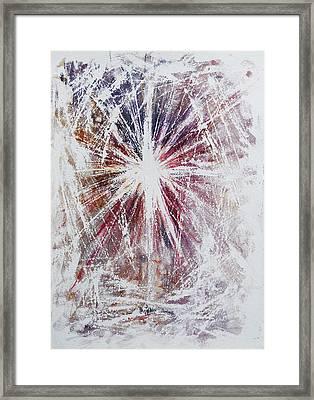 Star Of Wonder Framed Print