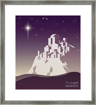 Star Over Bethlehem Framed Print
