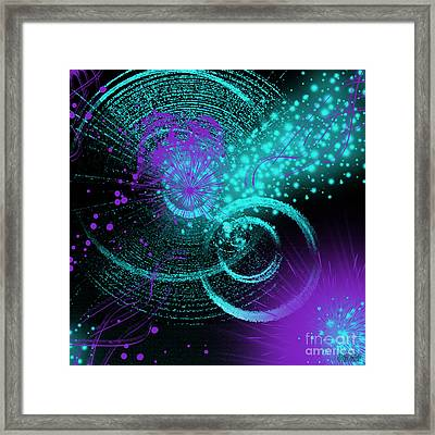 Star Party Framed Print