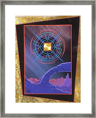 Star Song Framed Print