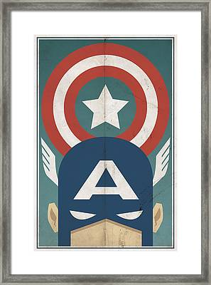 Star-spangled Avenger Framed Print by Michael Myers