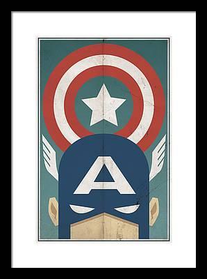 Hero Framed Prints