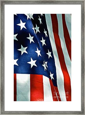 Star-spangled Banner Framed Print