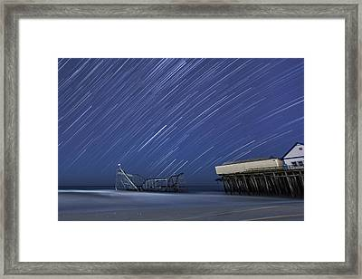 Star Spangled Framed Print by Mike Orso