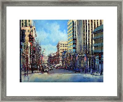 Star Spangled Morning Framed Print