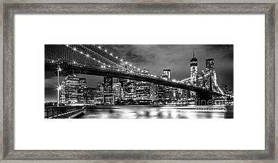 Star Spangled Skyline 2 Framed Print by Az Jackson