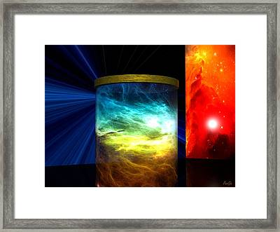 Star Stuff Framed Print by John Pangia
