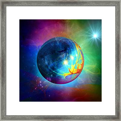 Star To Star Framed Print