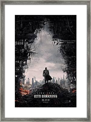 Star Trek Into Darkness  Framed Print by Movie Poster Prints
