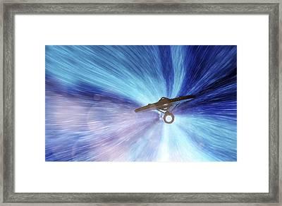 Star Trek - Warp Speed Mr. Scott Framed Print by Jason Politte