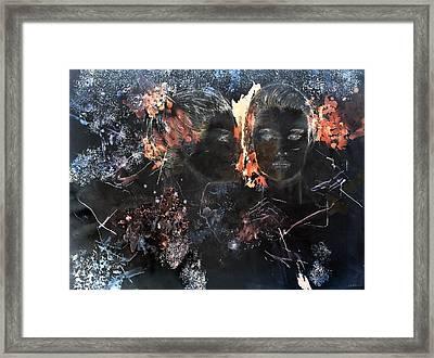 Star Twins Framed Print by B J Stehlin