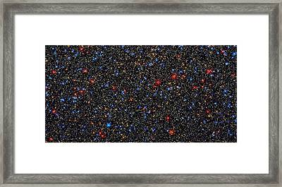 Star Wall Framed Print