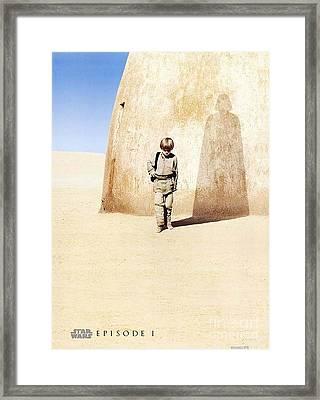 Star Wars Episode I Framed Print