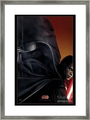 Star Wars Episode IIi Framed Print