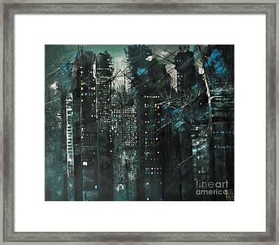 City Of Fools Framed Print