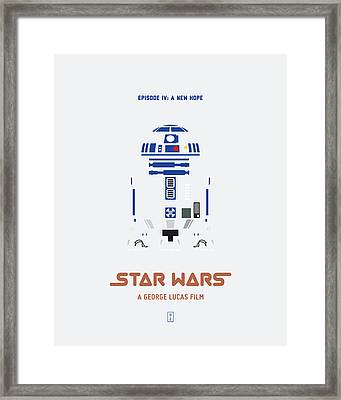 Star Wars Framed Print by Smile In The  Mind