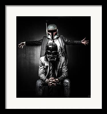 Trooper Framed Prints