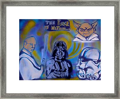 Star Wars The Force Within Framed Print