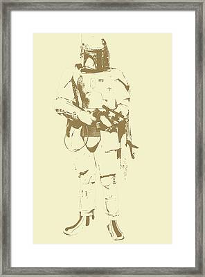 Star Wars Trooper Framed Print