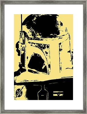 Star Wars Trooper's Helmet Framed Print