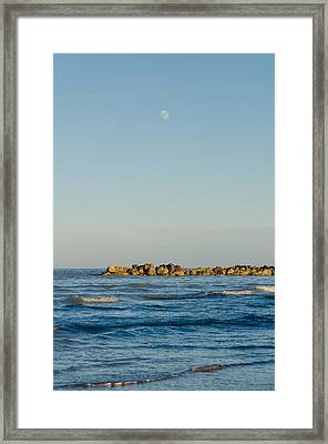 Star Waves Framed Print by Andrea Mazzocchetti