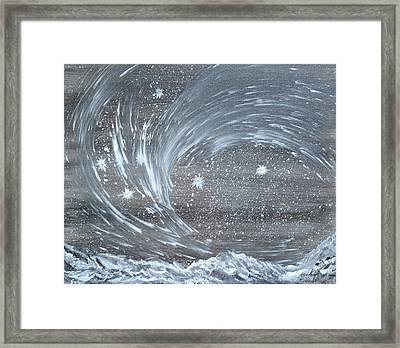 Star  World Framed Print by Suzanne Surber