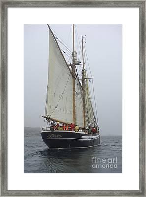 Starboard Tack Framed Print