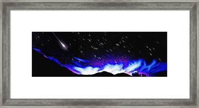 Starburst Framed Print by Alfredo Martinez