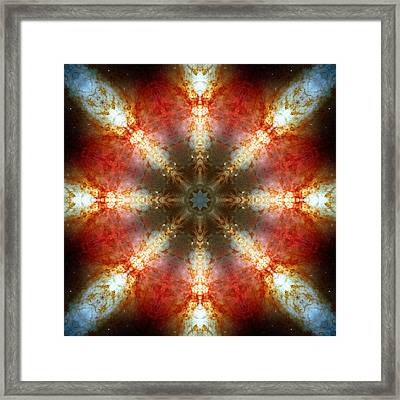 Starburst Galaxy M82 II Framed Print