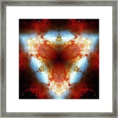 Starburst Galaxy M82 Vi Framed Print